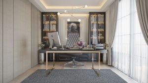Pattaya House project home office