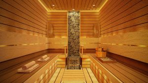 Pattaya villa project with sauna room included